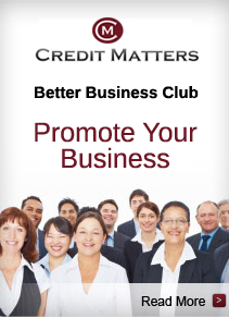 Promote Your Business on Credit Matters